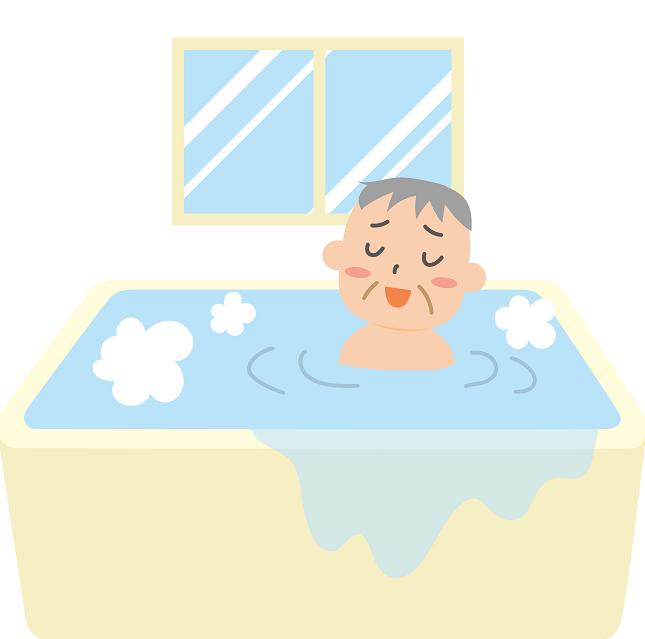 ヒートショックでは風呂場の浴槽につかり、体が温まると血管は急激に拡張します。この時血圧は下がります。