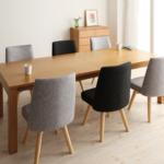 ダイニングテーブル 伸縮式 6人|大人数でもゆったり過ごせるテーブル