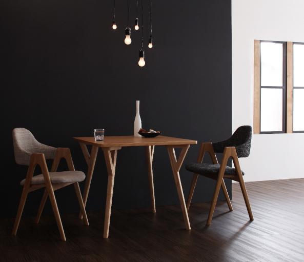 北欧ダイニングテーブル|おしゃれなダイニングテーブル【ILALI】イラーリ3点セット