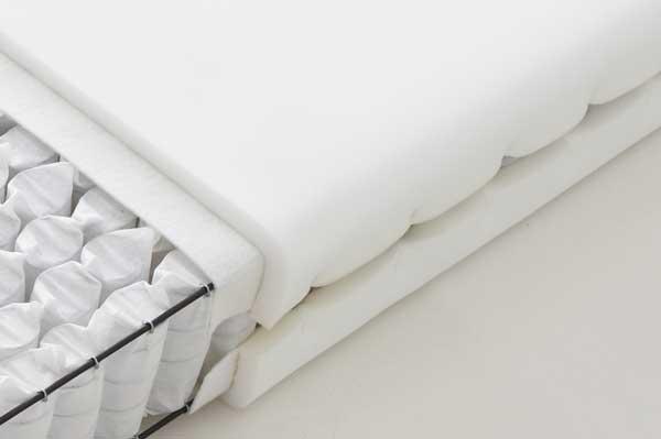 良質なベッドマットレス|ロールガード仕上げ画像