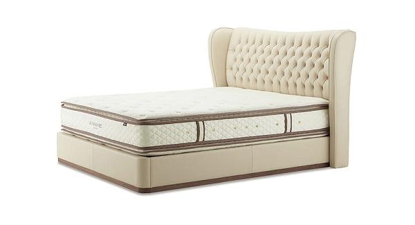 良質なベッドマットレス|ピロートップシルキーポケット正面画像