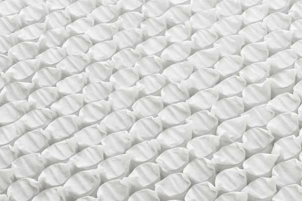 良質なベッドマットレス|千鳥組み形状仕上げ画像