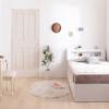 女性の一人暮らしに最適な小さいベッド画像