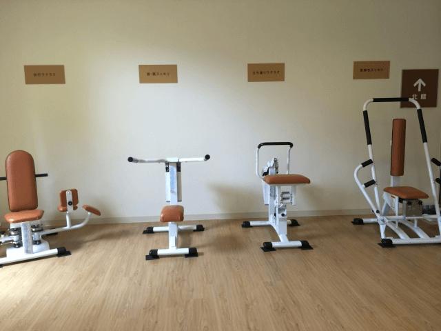 高齢者専用トレーニングルームの画像